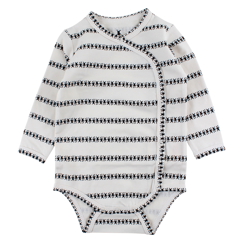 Gavi Long Sleeve Wrap-Over - Petit Atelier Enfant