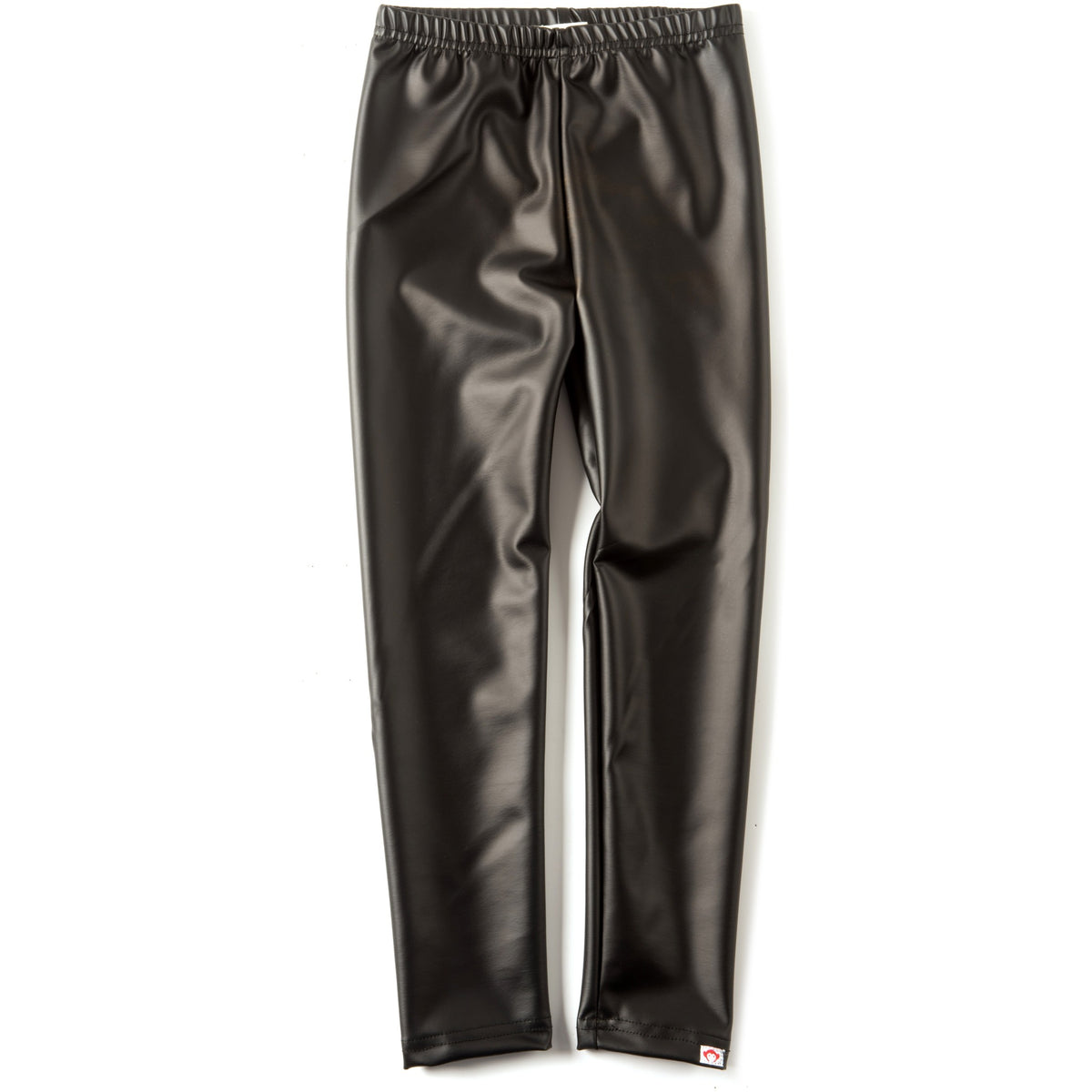 Shiny Black Legging - Petit Atelier Enfant