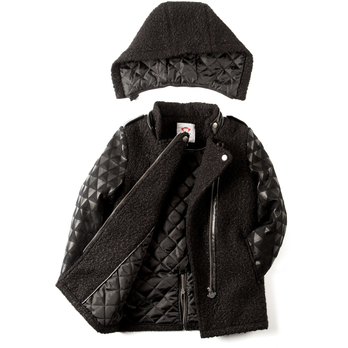 Asymmetrical Jacket Girl - Petit Atelier Enfant