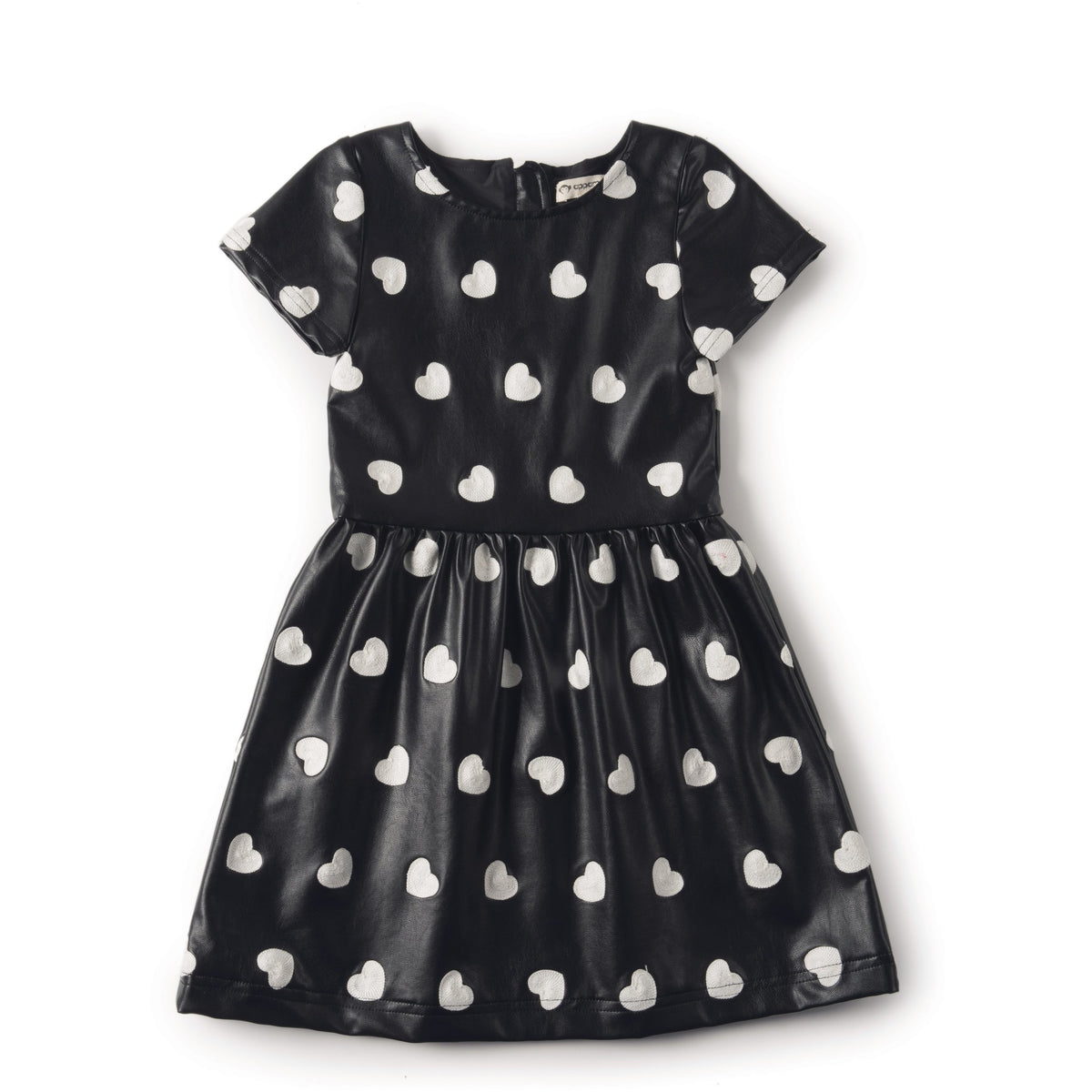 Kelsey Heart Dress - Petit Atelier Enfant