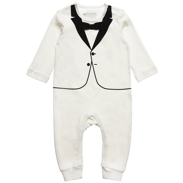 The Tiny Velvet Tuxedo - Petit Atelier Enfant