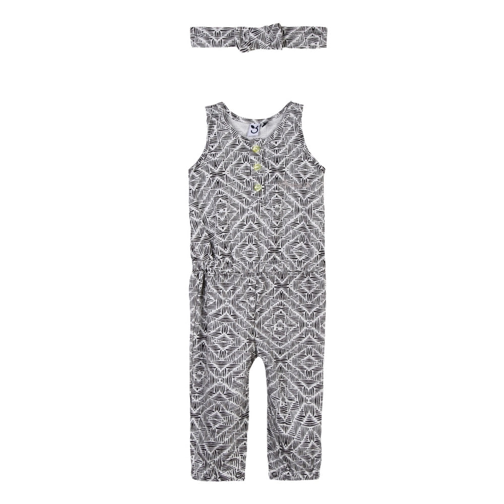 Graphic Rock Jumpsuit - Petit Atelier Enfant