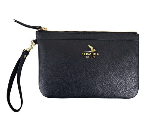 Black Tobacco Bay Clutch Bag