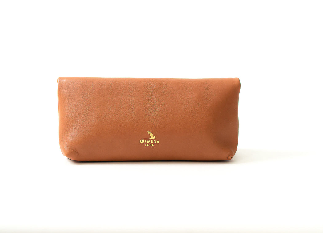 Southampton Clutch in Brown