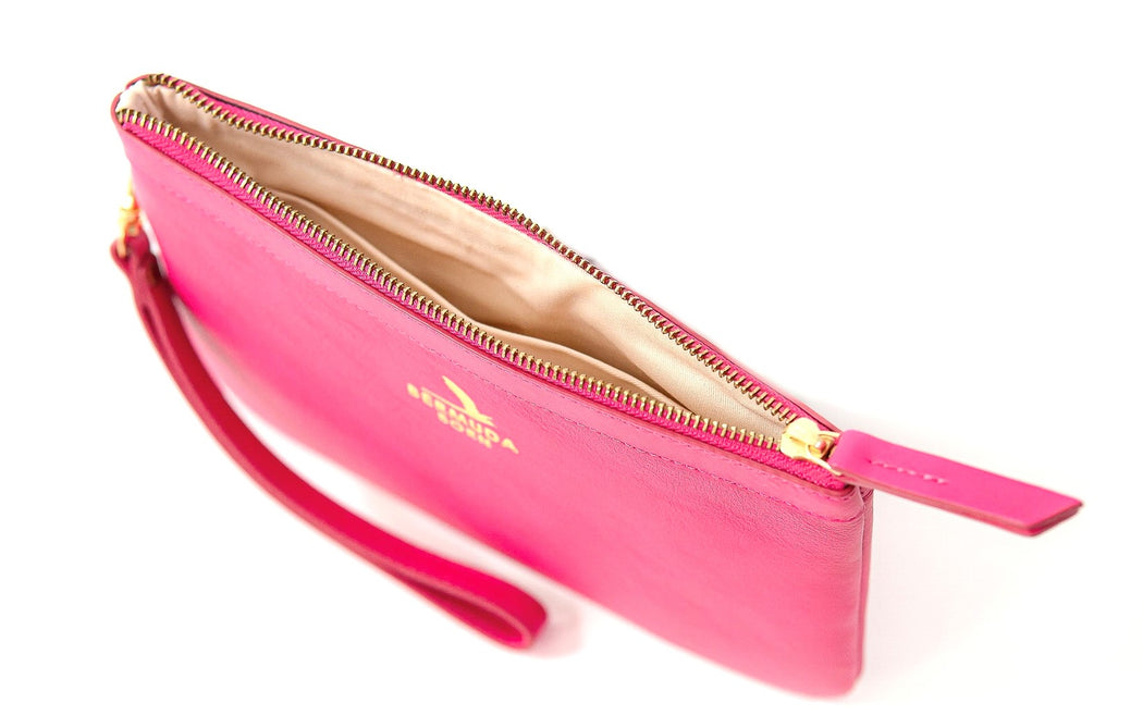 Pink Tobacco Bay Clutch Bag