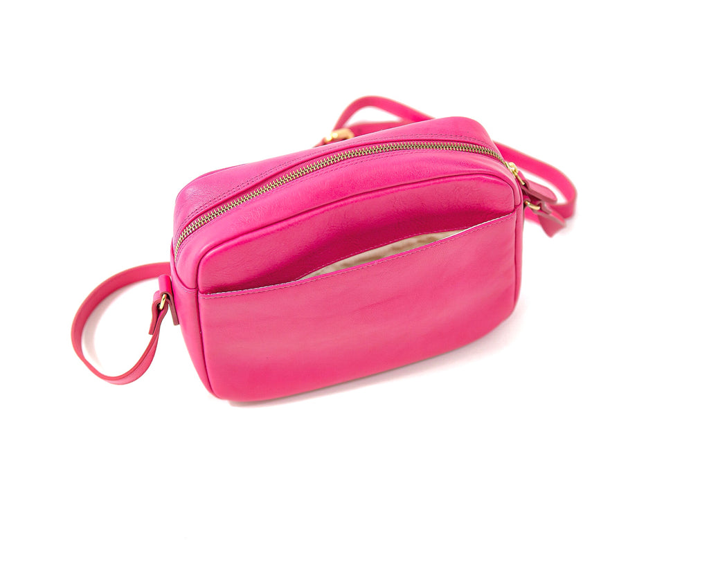 Pink Horseshoe Bay Crossbody Bag