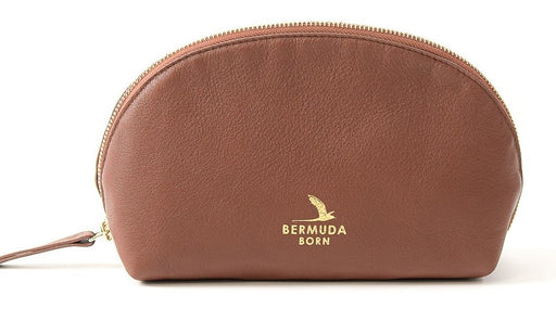 Brown Bermuda Moon Gate Toiletry Bag