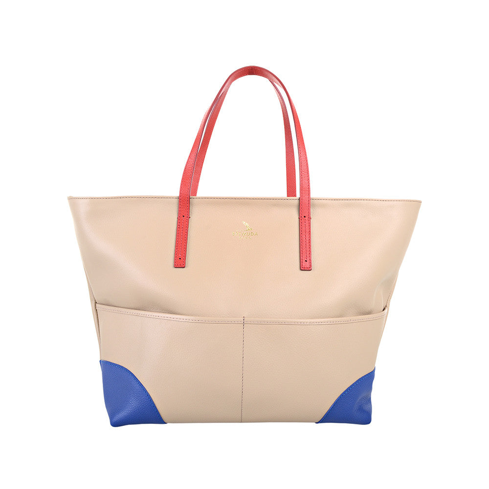 Saint David's Boat Leather Tote Bag - Bermuda Born