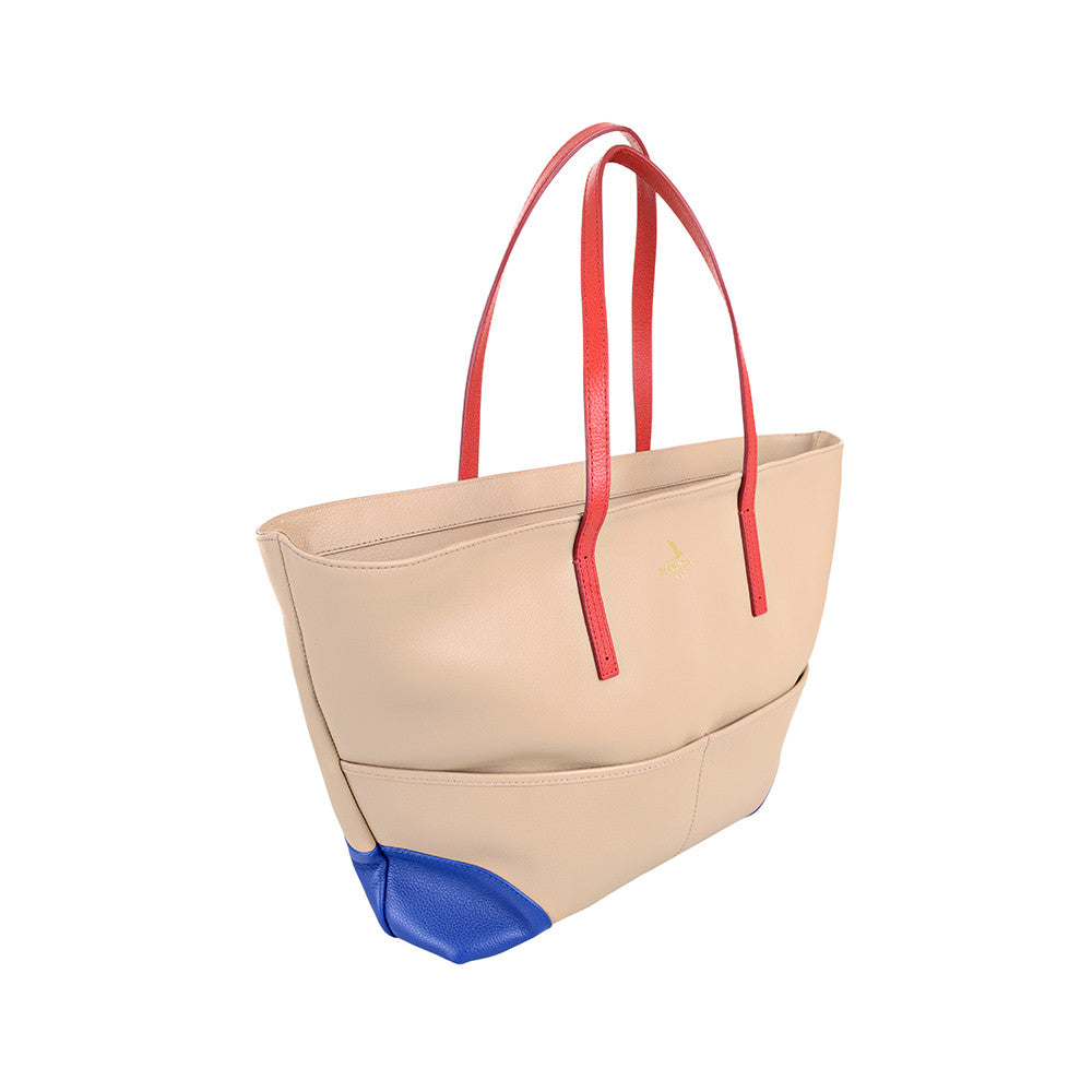 Saint David's Boat leather Tote bag online UK