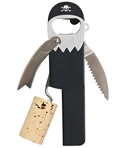 Suck UK Legless Corkscrew Pirate Bottle Opener Set of 2