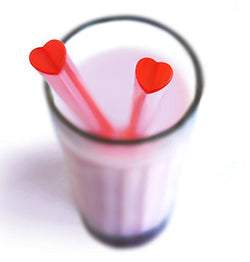 SUCK UK Heart Shaped Straws