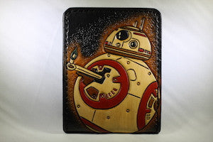 Toolin' and Drinkin' from the Nerd Lab, 7/26/17-BB-8 Bifold Wallet