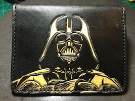Toolin' and Drinkin' Video from the Nerd Lab, 7/19/17- Darth Vader Top Fold Wallet