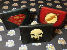 Toolin' & Drinkin' from the Nerd Lab, 8/23/17-Superman, The Flash & The Punisher Card Wallets