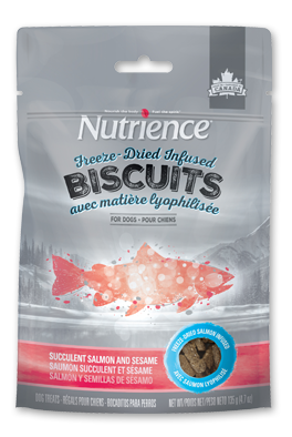 Nutrience Succulent Salmon and Sesame Treats