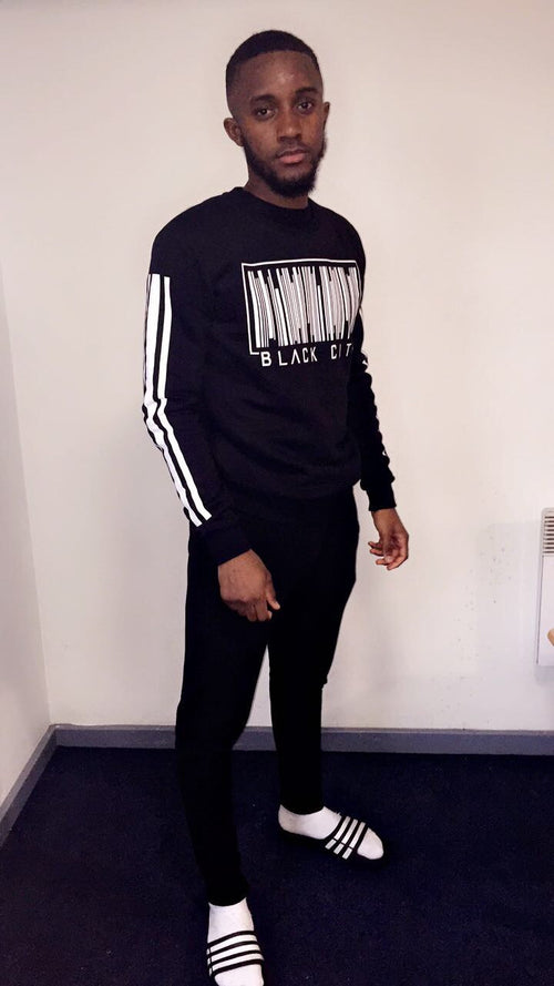 BLACK CITY UNISEX JUMPERS