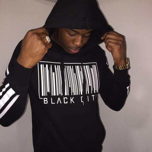 BLACK CITY UNISEX HOODIES