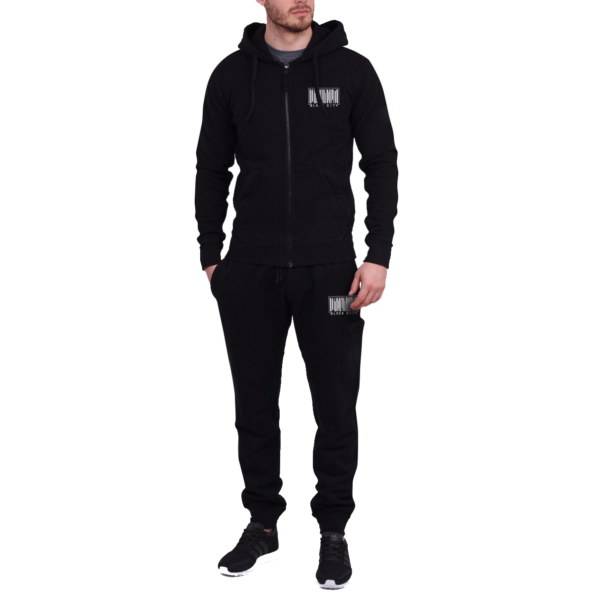 BLACK CITY MALE TRACKSUIT