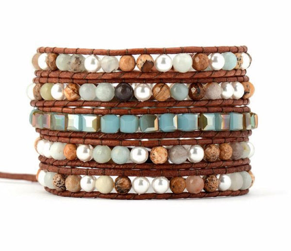 How To Wear Our Wrap Bracelets