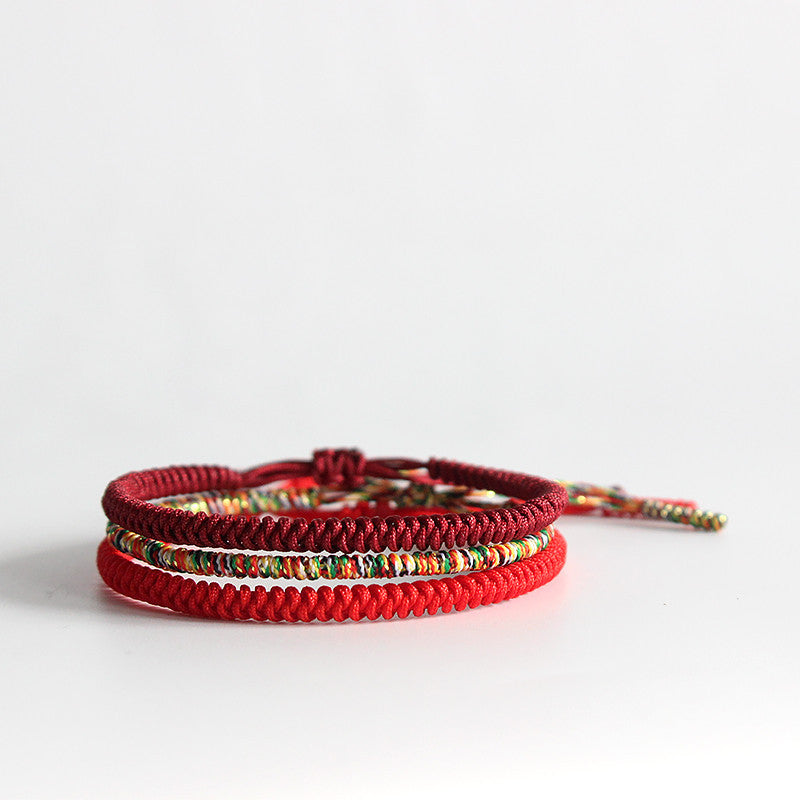 rope red bank the lucky clipped rev product bracelet