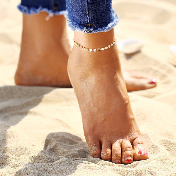 Summer Simple Chain Anklet