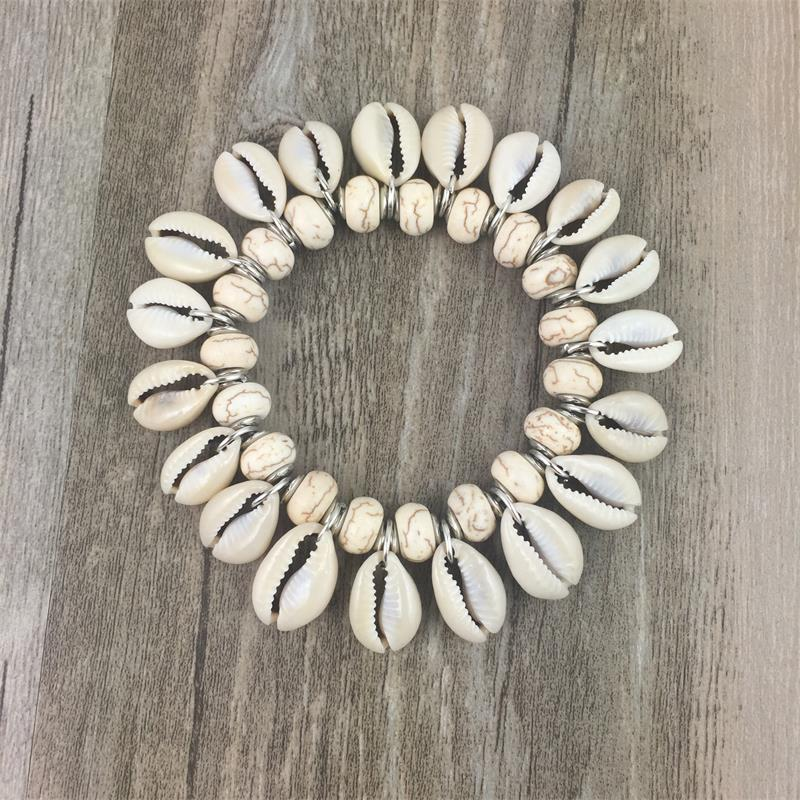 Sea Shell Natural Stone Bracelet