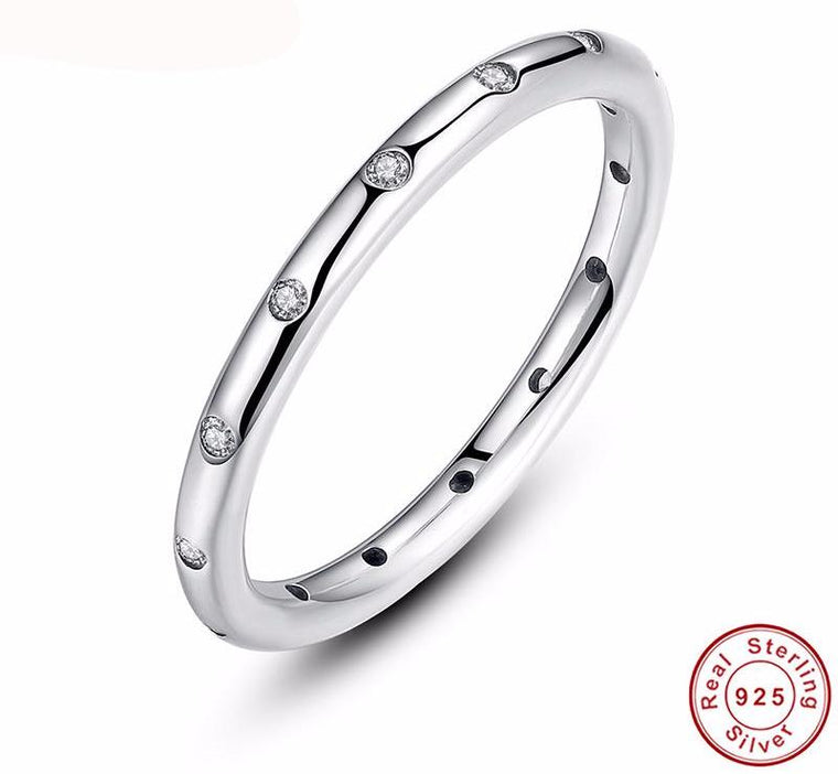 Droplets Stackable Finger Classic Ring for Women