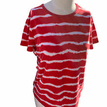 Load image into Gallery viewer, Micheal Kors Womens LG White & Red T-Shirt