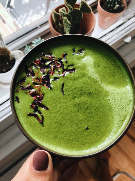 Matcha green tea collagen