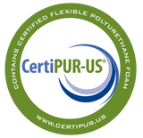 certipur certified CouchBed memory foam