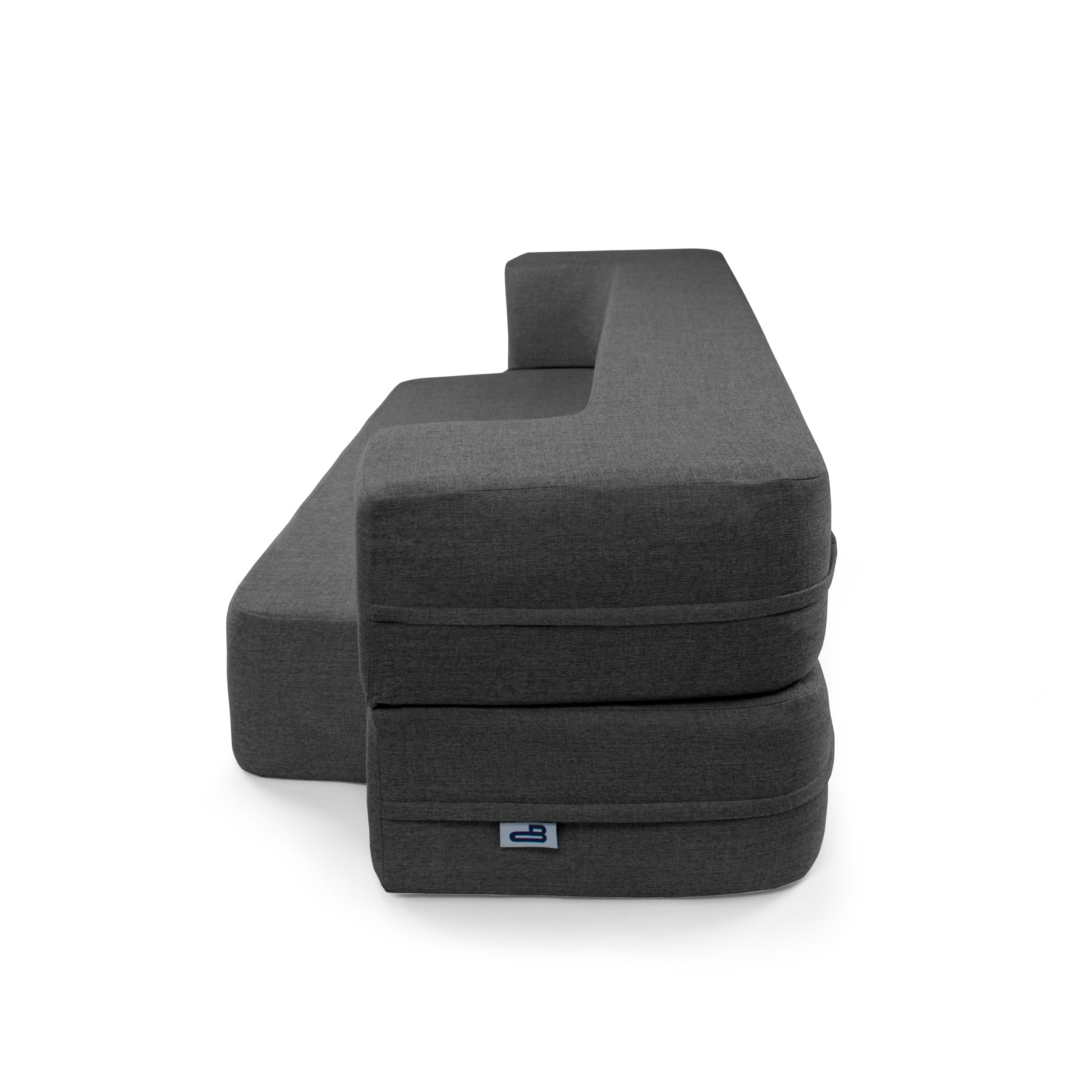 Brilliant Charcoal Couchbed Beatyapartments Chair Design Images Beatyapartmentscom