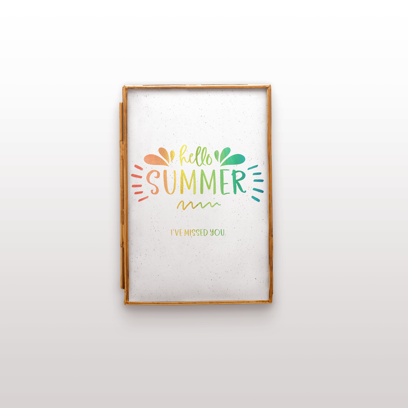 Freebie: Hello Summer Printable