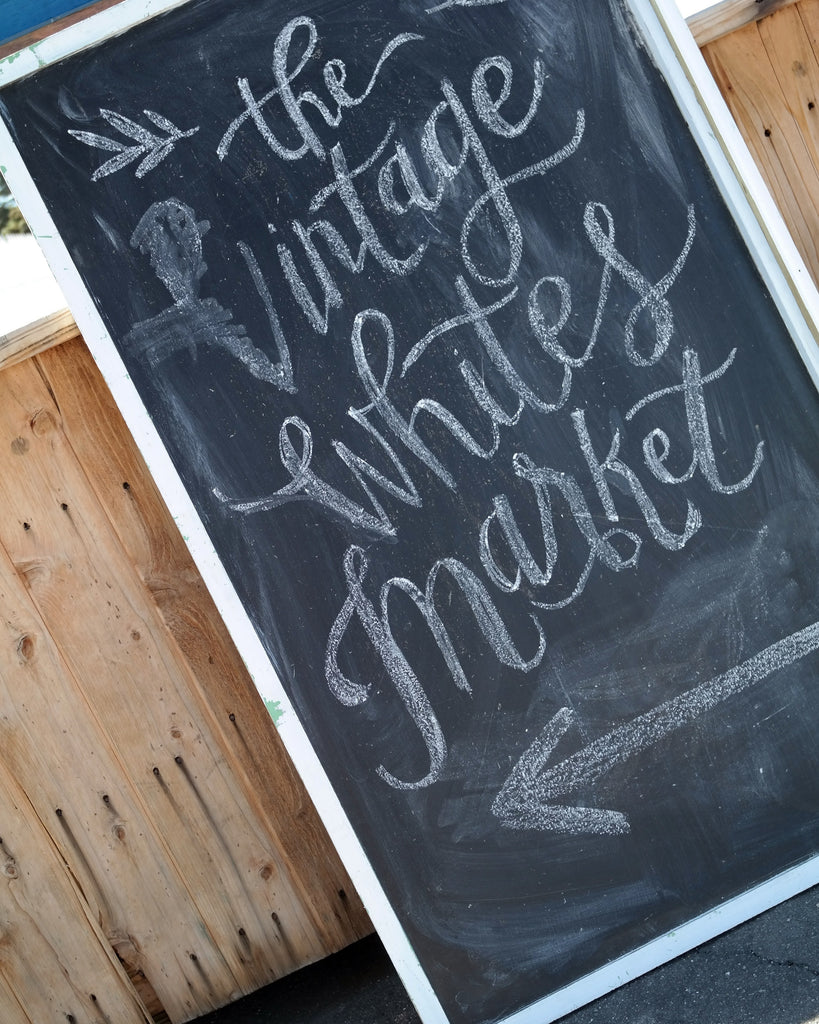 the Vintage Whites Market