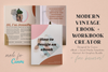 Modern Vintage Canva Template Bundle