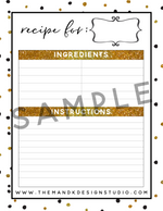 The Chic Holiday Planner - Blogger Printable Pack - the M&K Design Studio