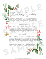 Blogger Printable Kit: the Christmas Spider Story - the M&K Design Studio
