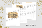 2018 Printable Planner Kit for Bloggers - the M&K Design Studio
