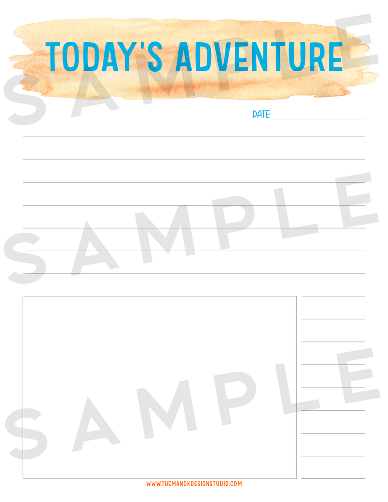 Printable Opt In Kit: Summer Bucket List Printable (EXCLUSIVE) - the M&K Design Studio