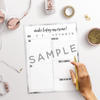Marble Printable Daily Planner - the M&K Design Studio