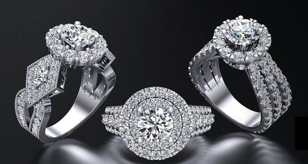 Cassy Saba Custom Engagement Ring
