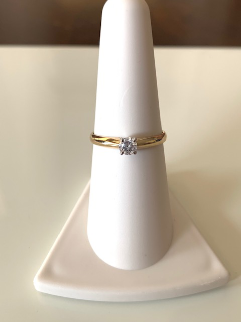Round Diamond Stackable