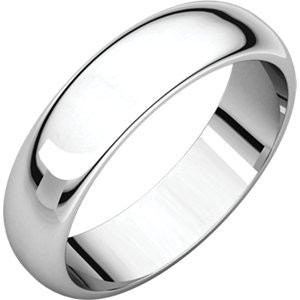 Men's Classic Plain Comfort Fit Wedding Band