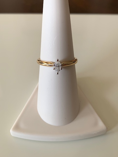 Marquise Diamond Stackable