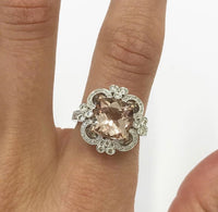 morganite, morganite gemstone, morganite ring, morganite engagement ring, morganite cocktail ring, morganite band, morganite and white gold, morganite and rose gold, morganite birthstone, morganite wedding, morganite blush, morganite earrings, morganite necklace, morganite bracelet