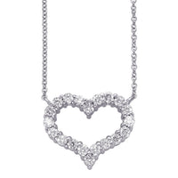 heart necklace, heart pendant, diamond heart, heart diamonds, heart jewelry
