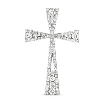 diamond cross, faith, diamond pendant, cross necklace, cross pendant