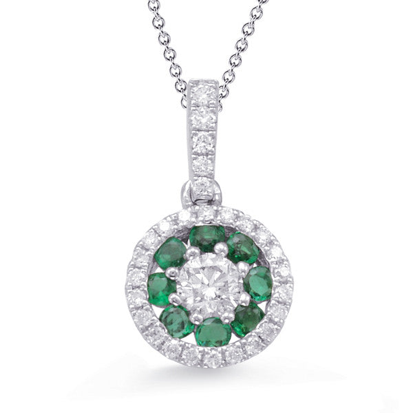 emerald, emerald and diamonds, emerald pendant, birthstone necklace, emerald, emerald and diamond necklace, emerald and diamond jewelry