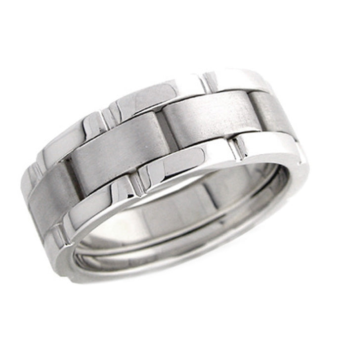 Men's Link Wedding Band