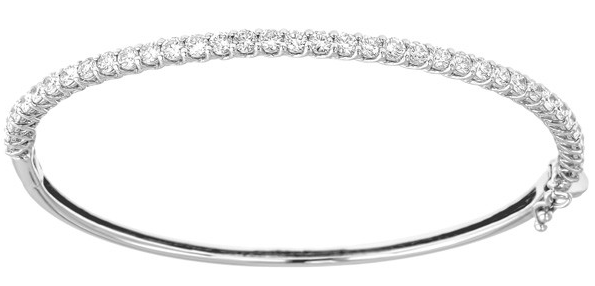 diamond bangle, tennis bracelet, diamond bracelet, white gold, diamond jewelry, diamond gift