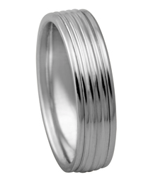 Men's Ridge Wedding Bands